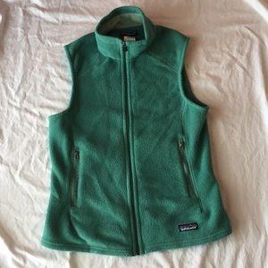 Patagonia green vest, size Medium